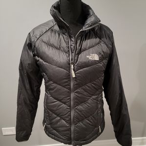 Like New The North Face Grey 550 Coat!